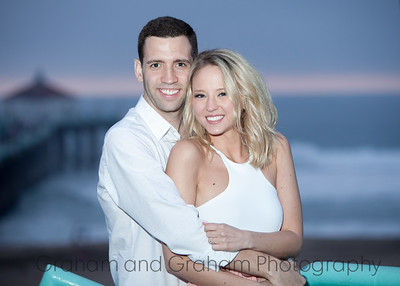 Manhattan Beach engagement photos