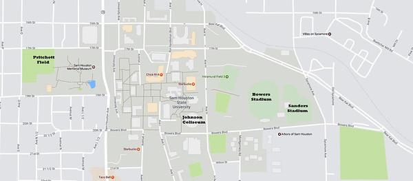 Sam Houston State University Bowers Stadium Huntsville Texas