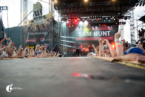 Sam Hunt | Sunfest Country Music Festival | Duncan BC