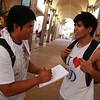 Kuya jameZ interviewing ading Adrian.