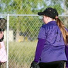 Samantha's final game for the GALS softball team Purple lightning