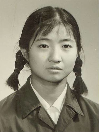 Liu Hsin-yen Heimsókn kínverja til badmintonkeppni.
