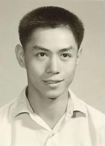 Chou Chih-chun Heimsókn kínverja til badmintonkeppni.