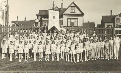 Börn og unglingar í Ármanni fyrir 1938.