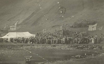 Þjóðhátíð í Vestmannaeyjum.