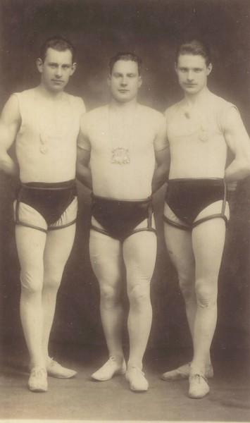 Ágúst Jónsson, Þorgeir Jónsson og Jörgen Þorbergsson.