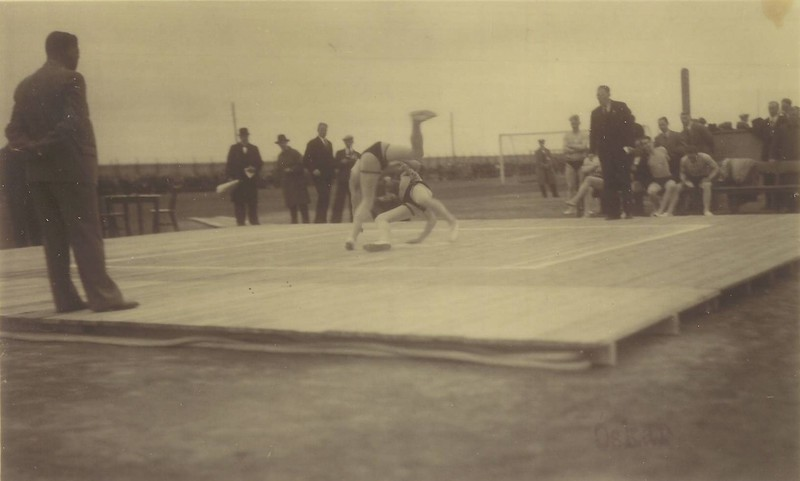 Íslandsglíma 1936.