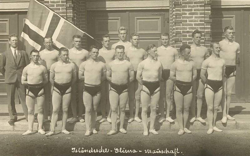 Þýskalandsfarar Ármanns 1929.