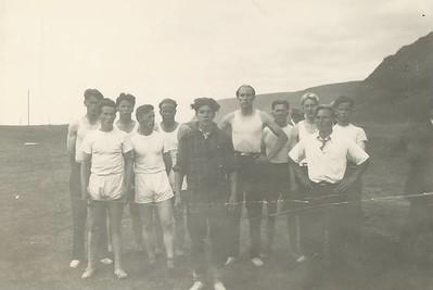 Íþróttafélagið Hörður Patreksfirði og Íþróttafélag Bílddælinga 1945.