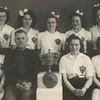 Handknattleikskonur KA í kringum 1950.