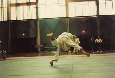 Júdó á Sumar Íþróttahátíð 1980 Sumaríþróttahátíð ÍSÍ 1980.