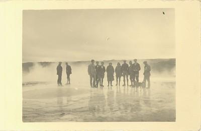 Baðlaug Hveravöllum 1931.