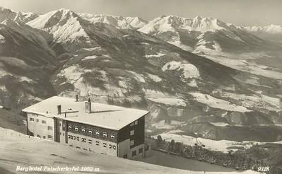 Skíðahótel í Svissnesku Ölpunum. Berghotel Patscherkofel, 1960 m.