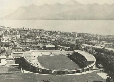 Íþróttaleikvangur í Lausanne, Sviss.