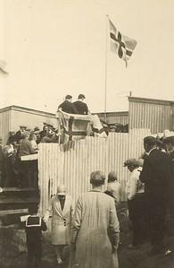 Sundskáli í Örfirisey 1929.