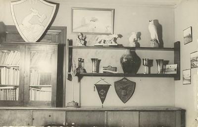 Skrifstofa ÍSÍ 1942.