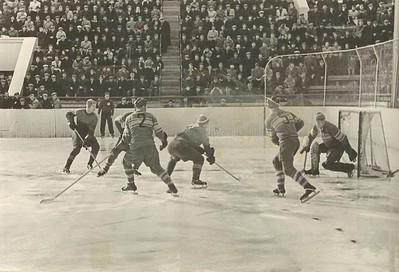 Mynd frá Spartakiada í Moskvu og Leningrad 1956.