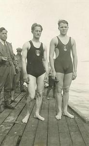 Benedikt G. Waage, Sigurður Runólfsson og Haukur Einarsson.