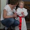 Agnes lussar för mormor och morfar och farmor och farfar.