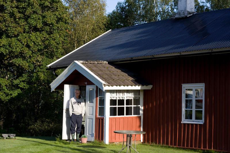 Tidig morgon i Skillerås.