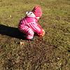Agnes spelar fotboll