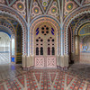 Non Plus Ultra - It rarely gets more extravagant than this abandoned castle. Extreme moorish style decorations and true color explosions in every room.