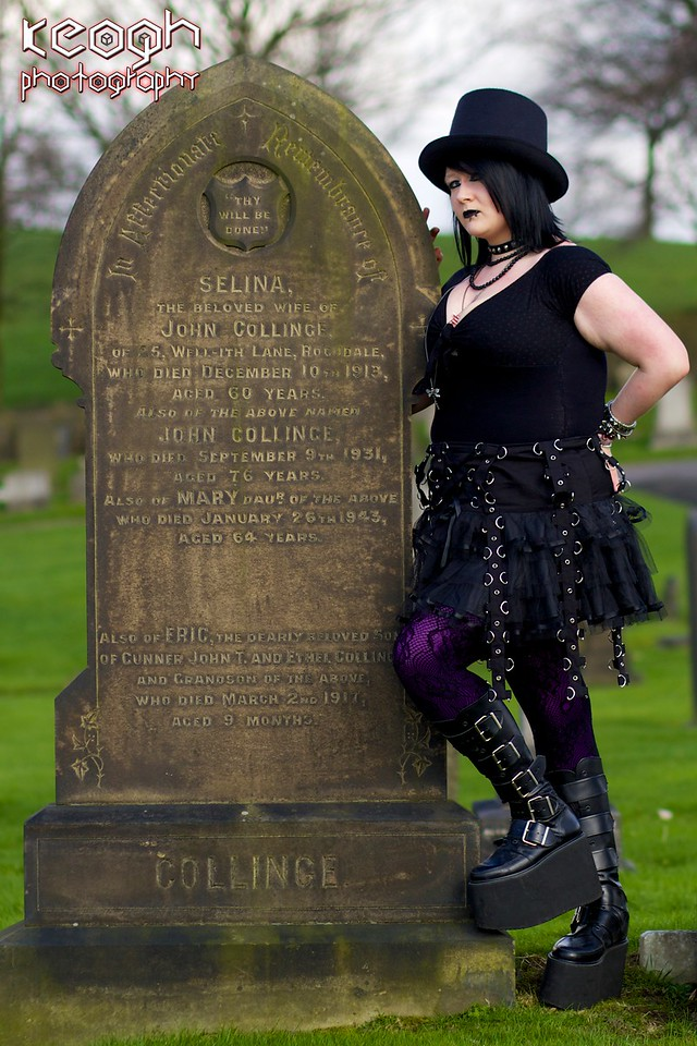 Sammi Sakura - Heywood Cemetery 01/03/13 Watermarked
