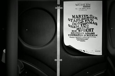 20 Jahre Magazin Saiten. St. Gallen. Schweiz, 9. August 2014.