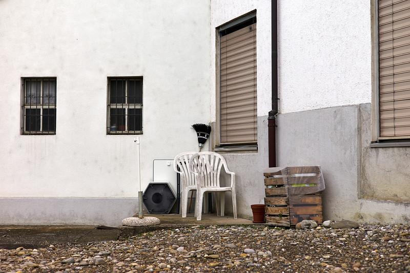 Weinfelden, Thurgau.  Schweiz, März 2013.