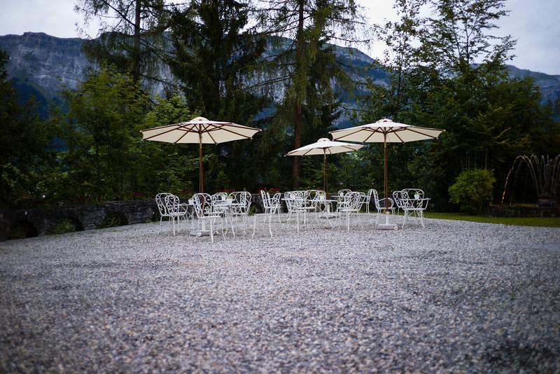 Flims, Graubünden.  Schweiz, Juli 2011.