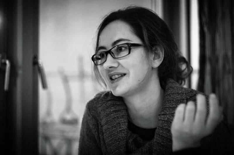 Theater-Künstlerin (und beste Schwester der Welt) Miriam Erni.  Wil, Dezember 2012.