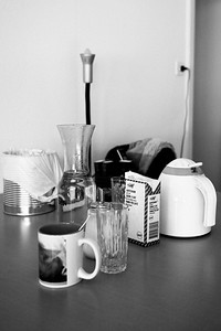 """""""Lieber keinen Kaffee als Instant-Kaffee."""" Der einzige Luxus, den R. sich gönnt, ist Bohnenkaffee."""