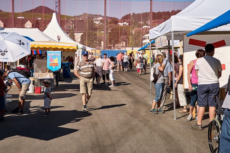 Regionale Vereine machten aus dem Soorpark-Areal ein Volksfest-Gelände.