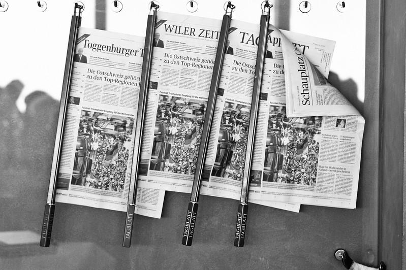 Thurgauer Zeitung, wo bist Du?