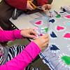 6th grader Gabriella Puglisi assembles a no-sew blanket for Health Alliance Hospitals during a 2 hour service workshop held at Samoset Middle School in Leominster on Friday Dec. 23, 2016.  (Sentinel & Enterprise photo/Jeff Porter)