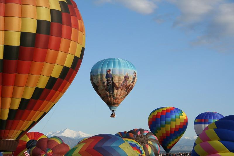 Balloon Festival, Erie, CO