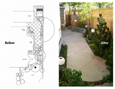 A 10-foot narrow garden transformed.