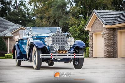 2019 RM - 1929 Packard Dual Cowl Phaeton 056A - Deremer Studios LLC