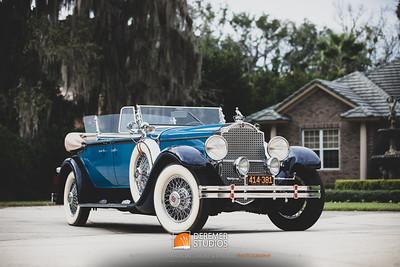 2019 RM - 1929 Packard Dual Cowl Phaeton 005A - Deremer Studios LLC