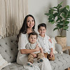boho family photography studio