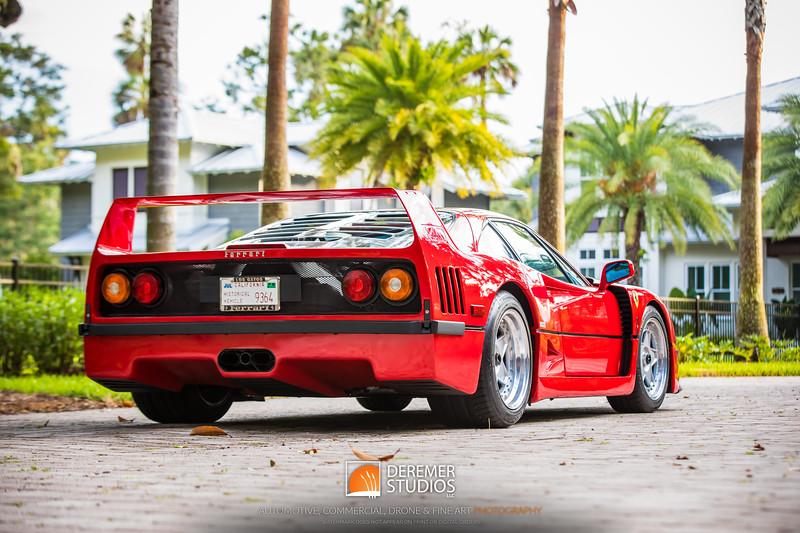 2018 RM - 1991 Ferrari F40 FL 040A - Deremer Studios LLC