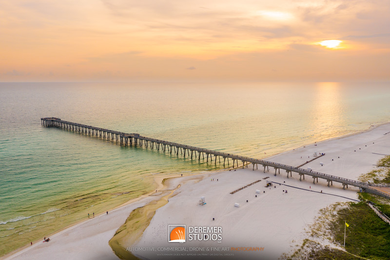 2019 Panama City Beach Drone 002A - Deremer Studios LLC