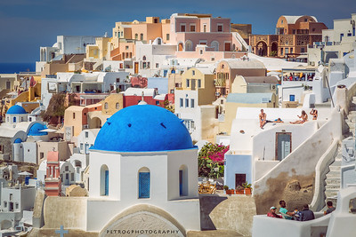 Oia at midday