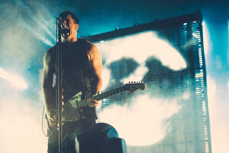 Trent Reznor, Nine Inch Nails, Camden NJ, 2014.
