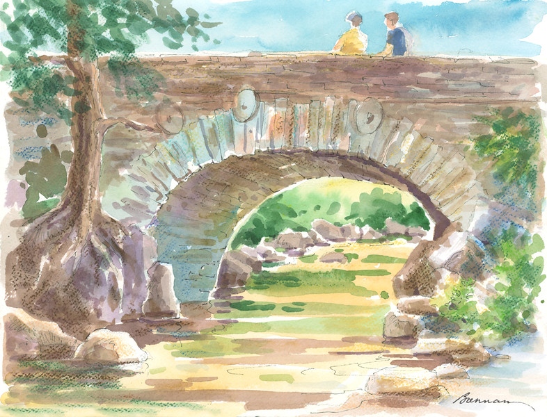Stone Bridge Sketch