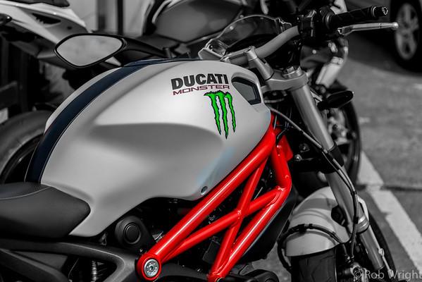Ducati Monster!