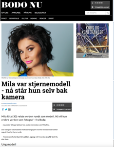 Interview in Bodø NU, Norway, desember 2016