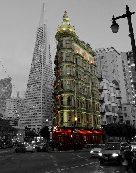 The Sentinel Building in San Francisco