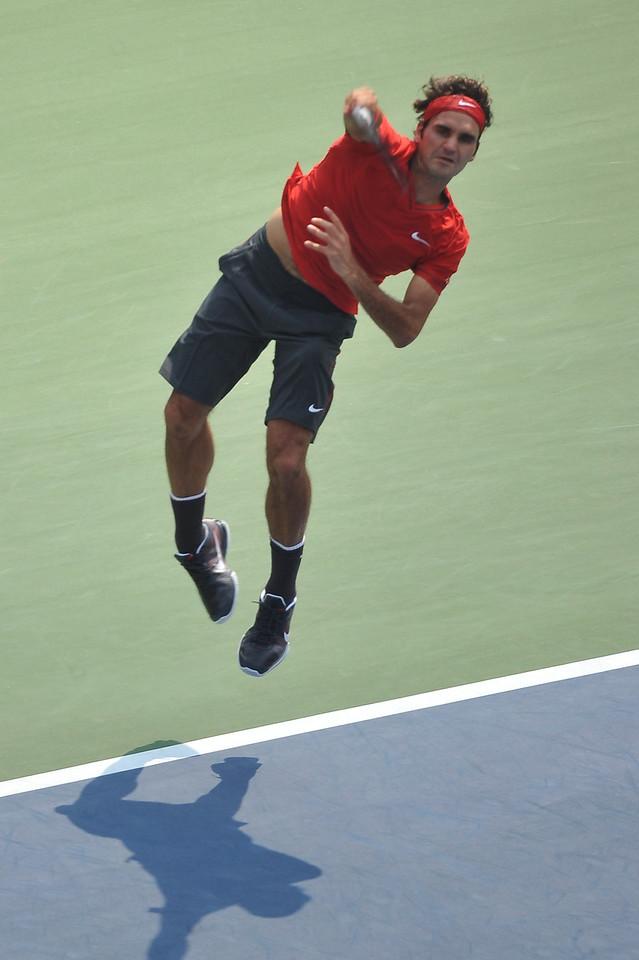 US OPEN TENNIS TOURNAMENT - Roger Federer