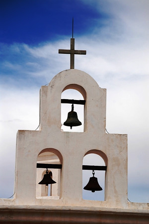 Bells of church in Tucson, AZ